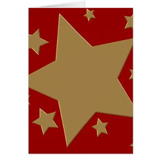 El oro protagoniza el estilo III Tarjeta