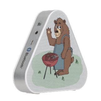 el oso asa a la parrilla al locutor del bluetooth altavoz bluetooth