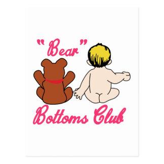 El oso basa al club postal