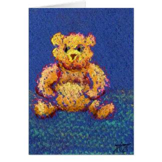"""El oso de miel """"lleva, los osos, osos """" tarjeta de felicitación"""