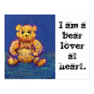 """El oso de miel """"lleva, los osos, osos """" tarjeta postal"""
