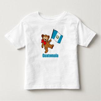 El oso de peluche de Guatemala embroma la camiseta
