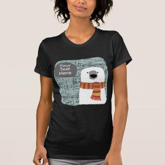 El oso polar del dibujo de Digitaces, crea su Camiseta
