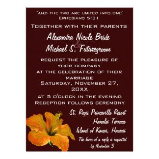 El otoño colorea el boda Dos se convierten en uno Anuncio