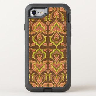 El otoño exótico del vintage colorea el amarillo funda OtterBox defender para iPhone 7