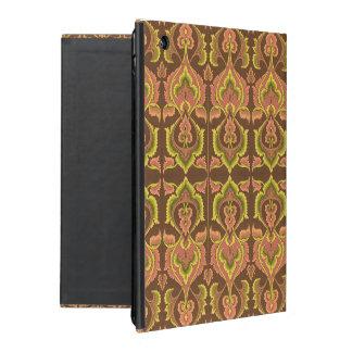 El otoño exótico del vintage colorea el amarillo funda para iPad