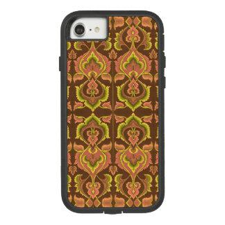 El otoño exótico del vintage colorea el amarillo funda tough extreme de Case-Mate para iPhone 7