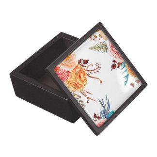 """El """"otoño florece"""" caja media del recuerdo"""