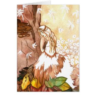 El otoño susurra tarjetas de felicitación