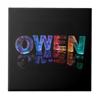 El Owen conocido en 3D se enciende la fotografía Tejas Ceramicas