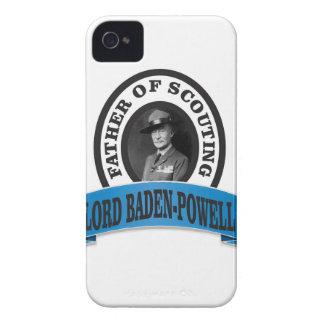 el padre del señor de exploración baden a powell funda para iPhone 4 de Case-Mate