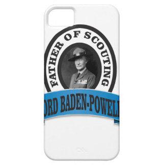 el padre del señor de exploración baden a powell funda para iPhone SE/5/5s