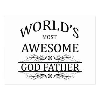 El padre más impresionante de dios del mundo postal
