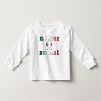 EL Padre Número 1 papá #1 en el día de padre Camisetas