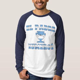 EL Padre Número 1 - papá del número 1 en Argentina Camisas