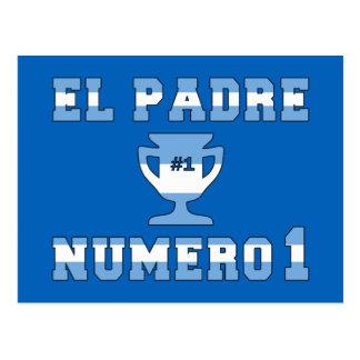 EL Padre Número 1 - papá del número 1 en Argentina Postal