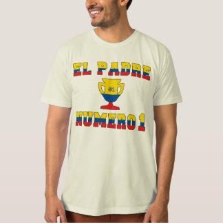 EL Padre Número 1 - papá del número 1 en Camiseta
