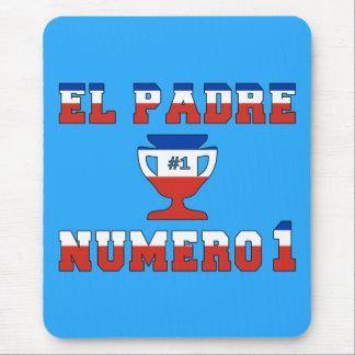 EL Padre Número 1 - papá del número 1 en chileno Alfombrillas De Raton