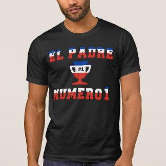 EL Padre Número 1 - papá del número 1 en chileno Camiseta