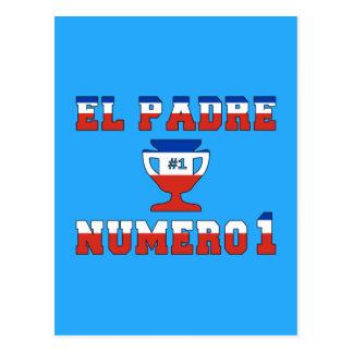 EL Padre Número 1 - papá del número 1 en chileno Postal