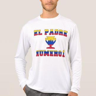 EL Padre Número 1 - papá del número 1 en venezolan Camiseta