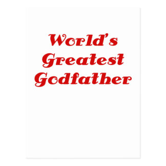 El padrino más grande de los mundos postal