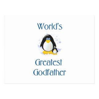 El padrino más grande del mundo (pingüino) postal