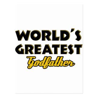 El padrino más grande del mundo postales
