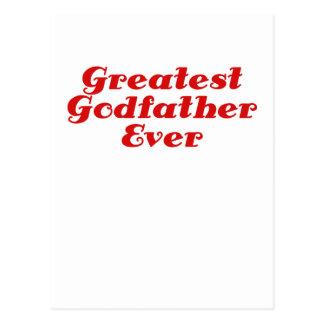 El padrino más grande nunca tarjetas postales
