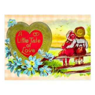 El país embroma la postal de Love Story