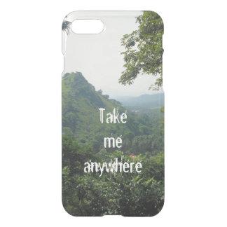 El paisaje hermoso el   de la montaña me toma funda para iPhone 8/7