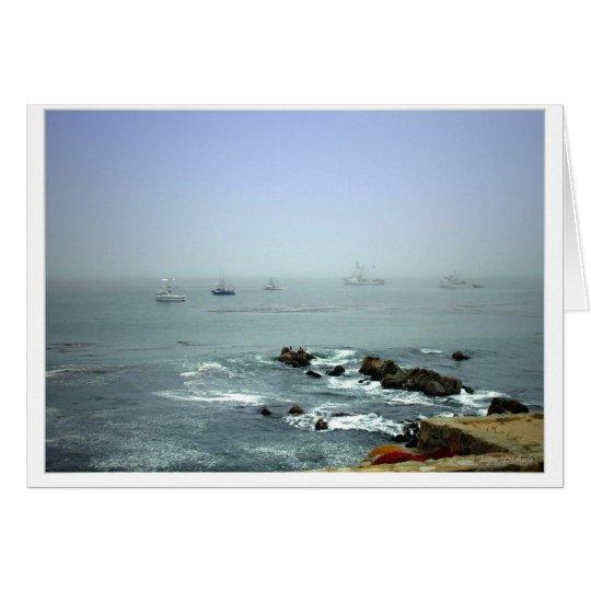 El paisaje marino de Mike Tarjeta De Felicitación
