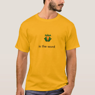El pájaro es palabra camiseta