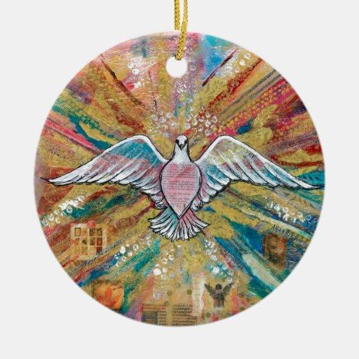 El pájaro grande ornamentos de reyes