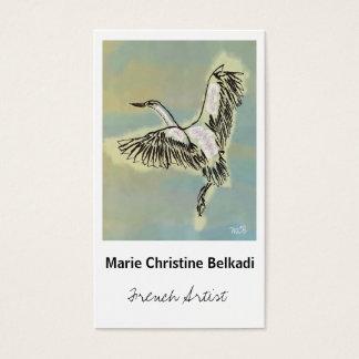 El pájaro le agradece observar - la tarjeta de