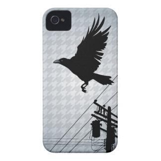 El pájaro voló (el pandémico) iPhone 4 Case-Mate protectores