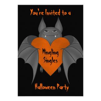 El palo de vampiro amoroso divertido de Halloween