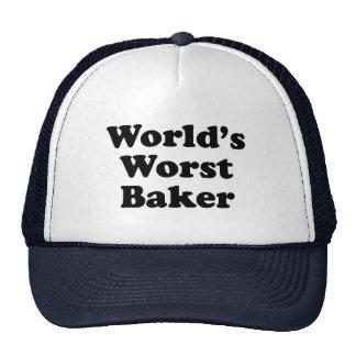 El panadero peor del mundo gorro