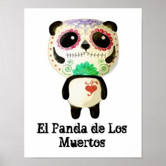 El Panda de Los Muertos Póster