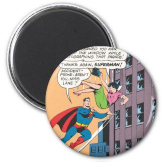 El panel cómico del superhombre - Lois propenso a  Imanes