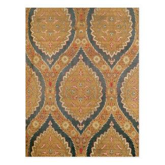El panel de la materia textil, décimosexto/siglo postal