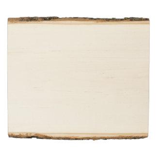 El panel de madera de la foto del arbolado