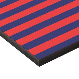 El panel de pared de acrílico: rojo, azul cuadro