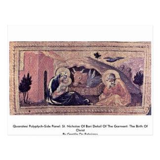 El panel del Polyptych-Side de Quaratesi: San Nico Postal