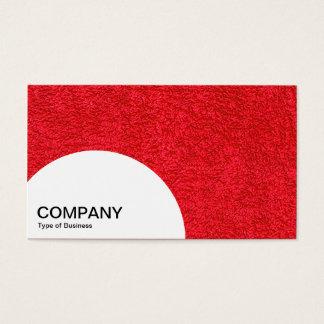 El panel del semicírculo - alfombra roja tarjeta de negocios