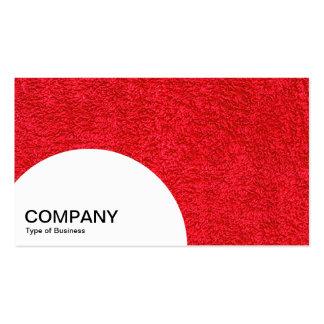 El panel del semicírculo - alfombra roja tarjetas de visita