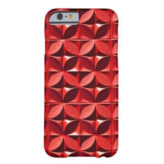 El panel rojo funda para iPhone 6 barely there