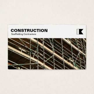 El panel superior - construcción - foto del tarjeta de negocios
