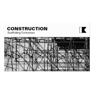 El panel superior - construcción - foto del tarjetas de visita