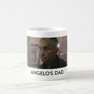 El papá de Ángel en una taza
